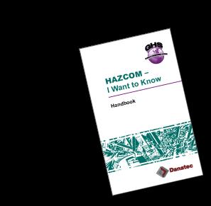 HAZCOM – I Want to Know, participant's study handbook